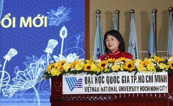 Đại học Quốc gia TP.HCM đón nhận danh hiệu anh hùng lao động