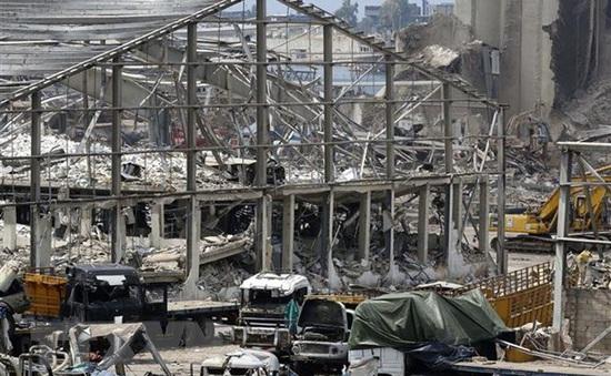 Lebanon dỡ bỏ container hóa chất nguy hiểm tại cảng Beirut