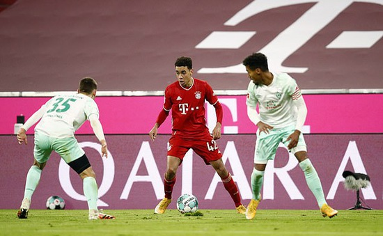 Bayern Munich 1-1 Werder Bremen: Bayern suýt thua trên sân nhà