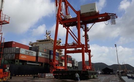 Tháng 11, lượng hàng hóa thông qua cảng biển giảm nhẹ