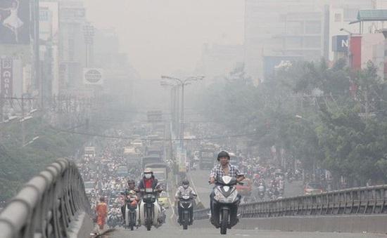 Nồng độ bụi ở Hà Nội tăng cao báo động