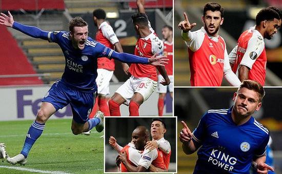Braga 3-3 Leicester City: Màn rượt đuổi ngoạn mục (Bảng G UEFA Europa League)