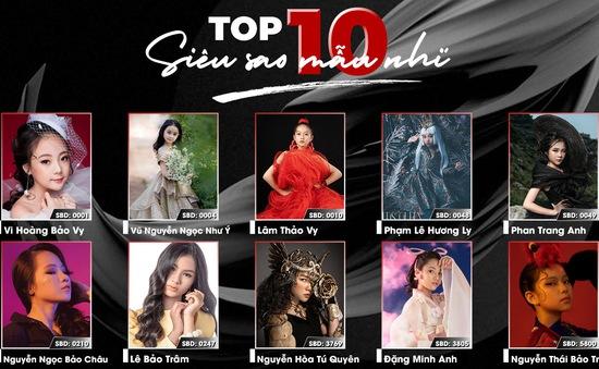 Vượt qua hàng nghìn thí sinh, Top 10 Siêu sao mẫu nhí Việt Nam 2020 chính thức lộ diện