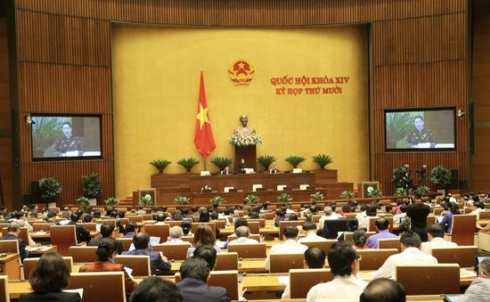 VTV truyền hình trực tiếp phiên thảo luận của Quốc hội về tình hình kinh tế - xã hội