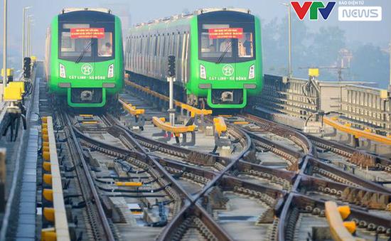 Đường sắt Cát Linh - Hà Đông vận hành thử toàn bộ hệ thống trong 20 ngày