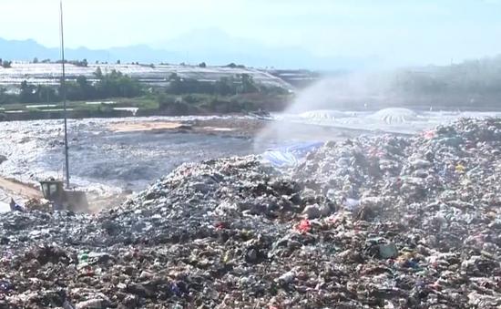 Bảo đảm vệ sinh môi trường Khu liên hợp xử lý chất thải Nam Sơn