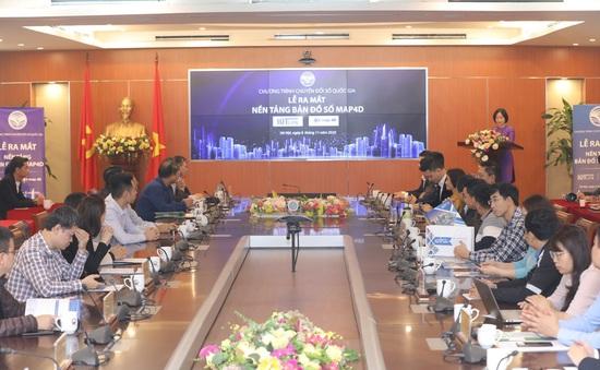 Bộ TT-TT ra mắt nền tảng bản đồ số thuần Việt đầu tiên tại Việt Nam