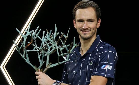 Daniil Medvedev vô địch giải quần vợt Paris Masters 2020
