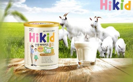 Hành trình thương hiệu sữa Hikid nội địa Hàn Quốc tới tay mẹ Việt