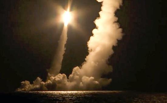Nga phóng thử thành công tên lửa đạn đạo liên lục địa Bulava