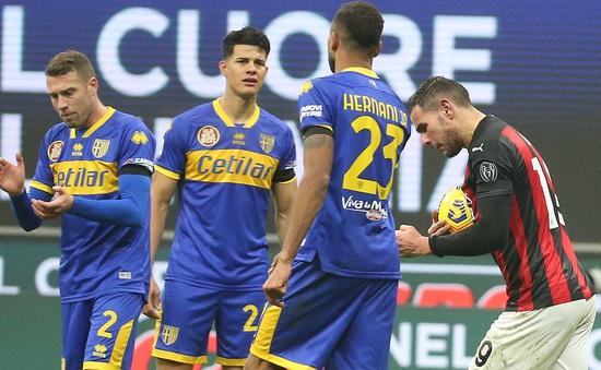 AC Milan 2-2 Parma: Chia điểm kịch tính