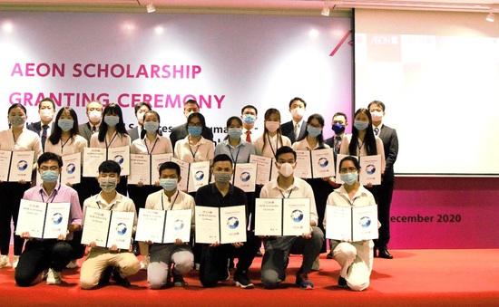 Trao học bổng 40 sinh viên khó khăn, học tập tốt ở TP Hồ Chí Minh