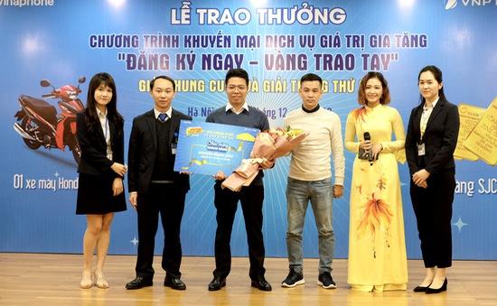 Lộ diện khách hàng trúng giải thưởng trị giá gần 600 triệu đồng của VNPT