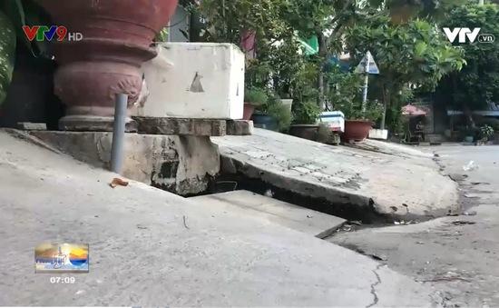 Khu phố ngày càng ngập nặng vì hạ tầng chênh lệch