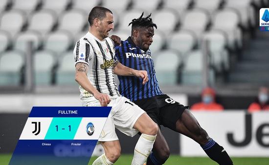 Ronaldo sút hỏng phạt đền, Juventus bị Atalanta cầm hoà trên sân nhà