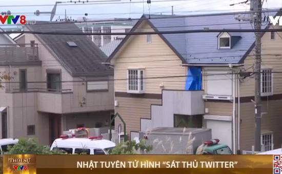 """Nhật Bản tuyên tử hình """"sát thủ Twitter"""""""