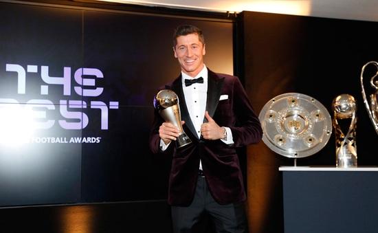 Vượt mặt Messi và Ronaldo, Lewandowski giành giải Cầu thủ xuất sắc nhất 2020