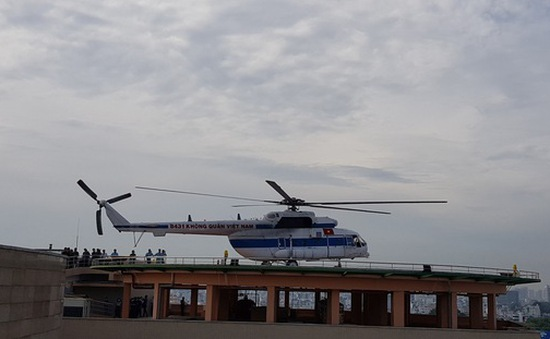 Sân bay trực thăng tại bệnh viện đầu tiên của Việt Nam chính thức hoạt động