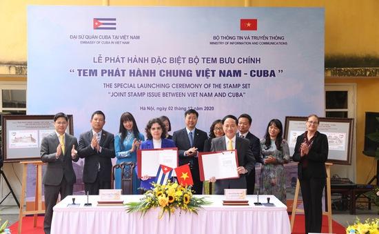 Phát hành đặc biệt bộ tem phát hành chung Việt Nam - Cuba