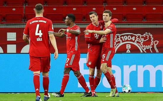 Bayer Leverkusen 1-2 Bayern Munich: Leverkusen không còn bất bại