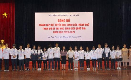 4 trường có lớp chuyên là nòng cốt tuyển Hà Nội dự thi chọn học sinh giỏi QG