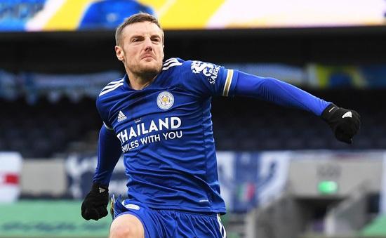 Tottenham 0-2 Leicester City: Vardy lập kỷ lục Leicester áp sát ngôi đầu