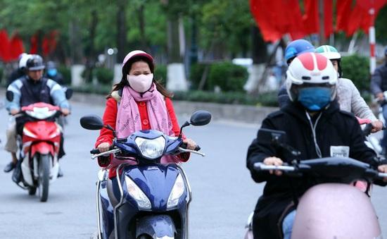 Hà Nội và các tỉnh Bắc Bộ tiếp tục rét, trưa chiều hửng nắng