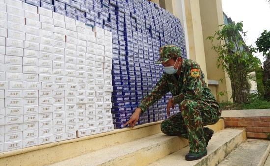 Bắt giữ hơn 11.000 bao thuốc lá điếu nhập lậu