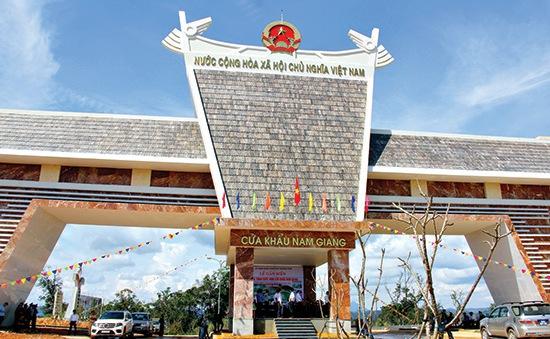 Cửa khẩu Nam Giang trở thành cửa khẩu quốc tế