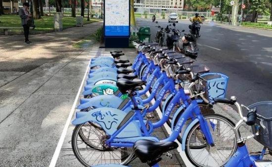 Xe đạp công cộng ở TP Hồ Chí Minh được sử dụng như thế nào?