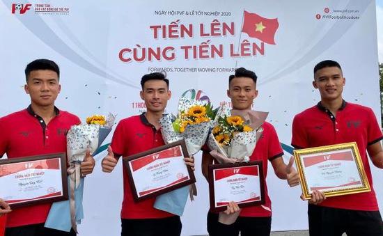 Danh sách 20 tài năng của Trung tâm đào tạo PVF thi đấu tại V.League và Hạng Nhất