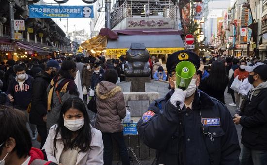 Thủ đô Tokyo của Nhật Bản ghi nhận kỷ lục hơn 1.300 ca mắc COVID-19 mới trong ngày