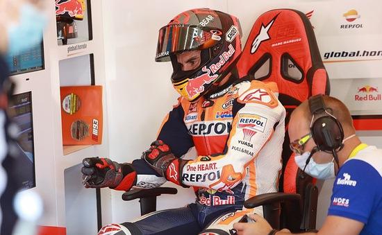 Đội Honda nhận tin không vui về chấn thương của Marc Marquez