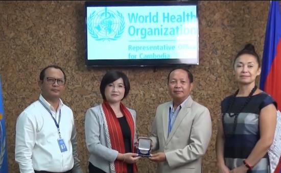 Nhà hoạt động chống thuốc lá nổi tiếng Campuchia nhận giải thưởng đặc biệt của WHO