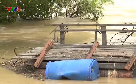 Đắk Nông: Thủy điện xả lũ, người dân trắng tay mất tiền tỷ