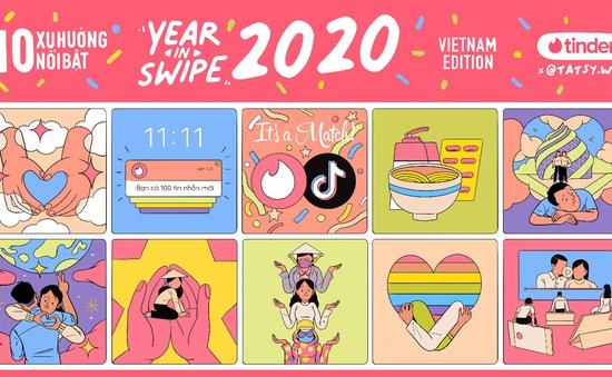 Ứng dụng hẹn hò Tinder công bố 10 xu hướng nổi bật năm 2020