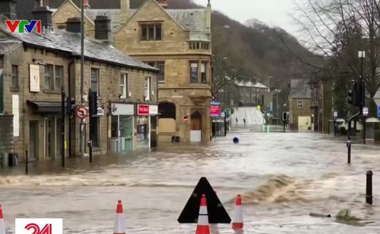 Bão Ciara gây mưa lớn, ngập lụt tại nhiều quốc gia châu Âu