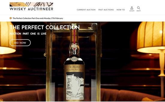 Đấu giá bộ sưu tập whisky đắt nhất thế giới