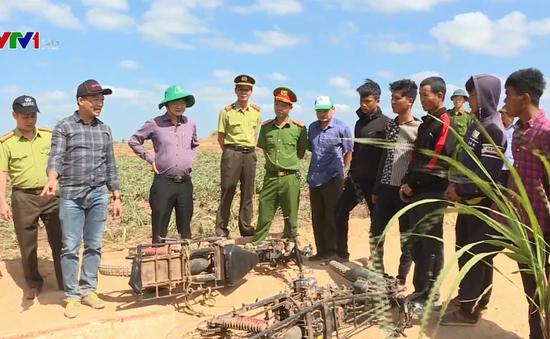Đắk Lắk: Bắt giữ 7 đối tượng đánh kiểm lâm