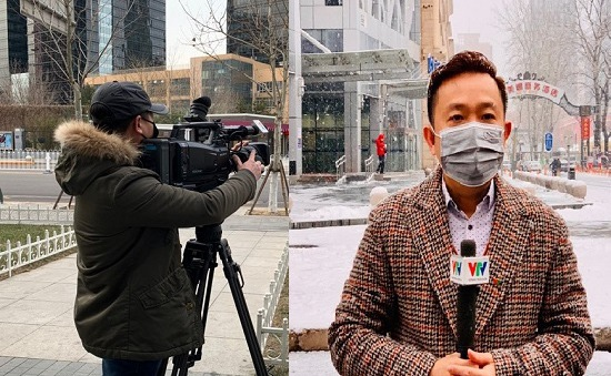 """Phóng viên Châu Thái Bình: """"Giữ không để bị bệnh cũng là một nhiệm vụ chính trị"""""""