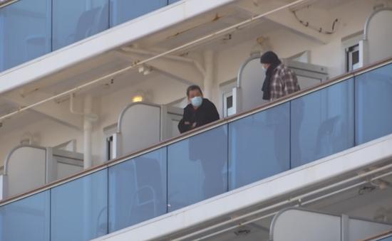 Nhật Bản sẽ cho những người già rời khỏi du thuyền Diamond Princess