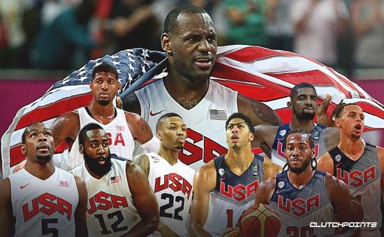 ĐT bóng rổ Mỹ công bố danh sách sơ bộ dự Olympic Tokyo 2020