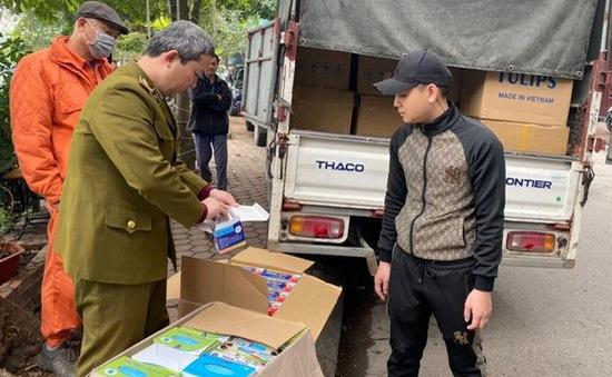 Hà Nội: Tạm giữ lô khẩu trang y tế trị giá hơn 1 tỷ đồng