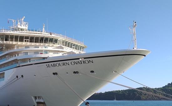 Du thuyền Seabourn Ovation được phép cập cảng Phuket, Thái Lan