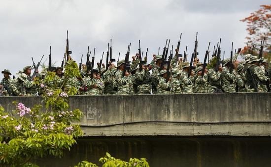 Venezuela diễn tập quân sự tại nhiều thành phố trên cả nước
