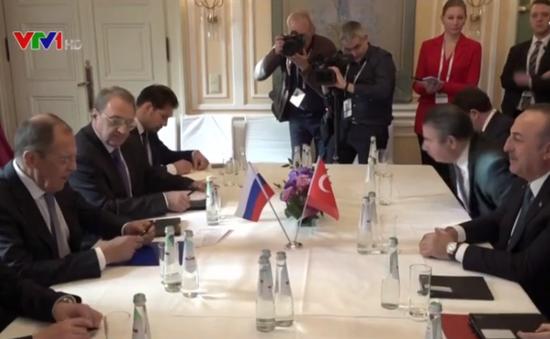 Nga và Thổ Nhĩ Kỳ thảo luận về tình hình Syria