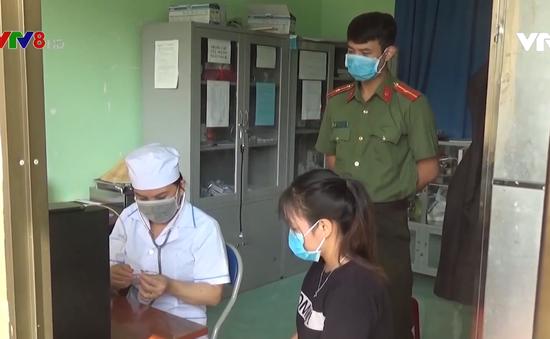Quảng Ngãi: Kiểm soát phòng dịch người lao động chui Trung Quốc trở về