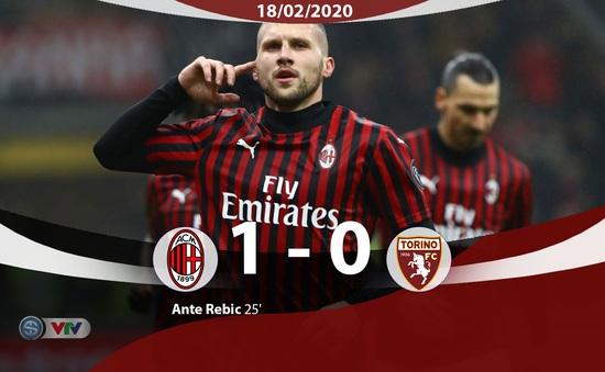 AC Milan giành chiến thắng tối thiểu trên sân nhà