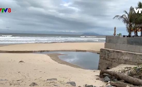 Đà Nẵng khẩn trương khắc phục sạt lở kè biển Mỹ An - Mân Thái