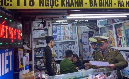 """Hà Nội xử lý 16 cửa hàng, 2 cá nhân đội giá khẩu trang """"chặt chém"""" khách hàng"""